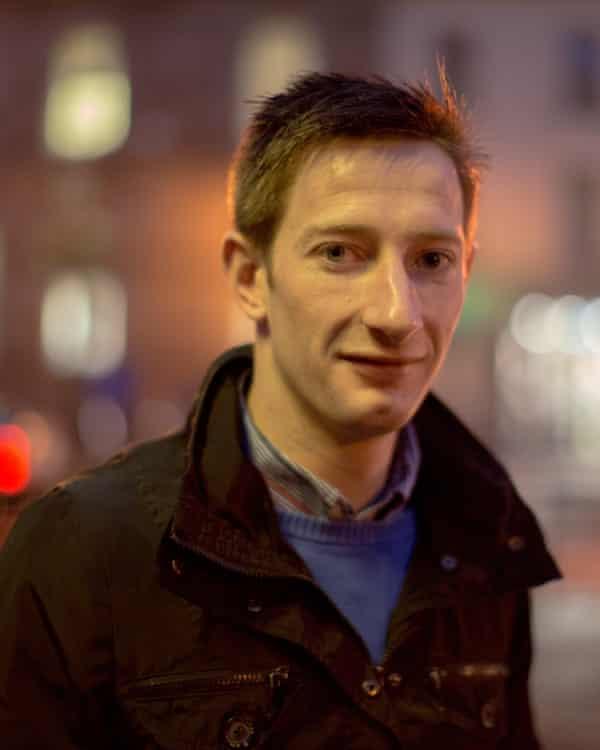 David Parkes: has spent his life as an 'in-betweener'