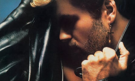 Cover of George Michael's top selling album Faith