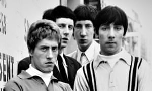 The Who in 1965 ... (L-R) Roger Daltrey, John Entwistle, Pete Townshend and Keith Moon.