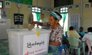 Votes from Kachin State were only counted late last week.