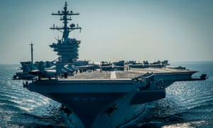 The USS Vinson.