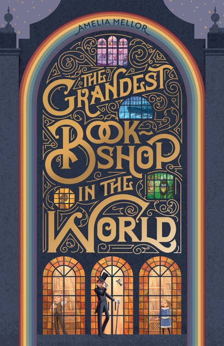 Cover image for The Grandest Bookshop in the World by Amelia Mellor