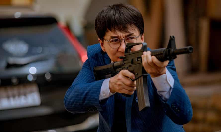 Jackie Chan in Vanguard.