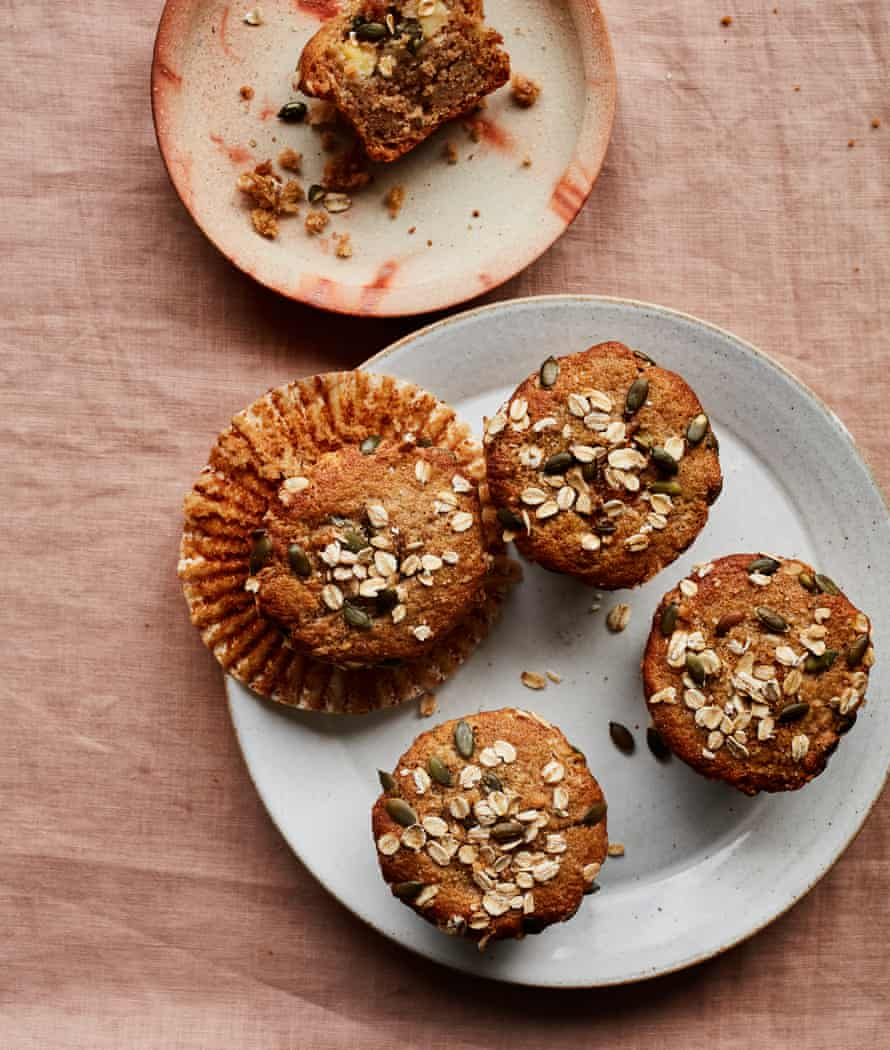 Benjamina Ebuehi S Recipe For Apple And Cardamom Buckwheat Muffins Food The Guardian