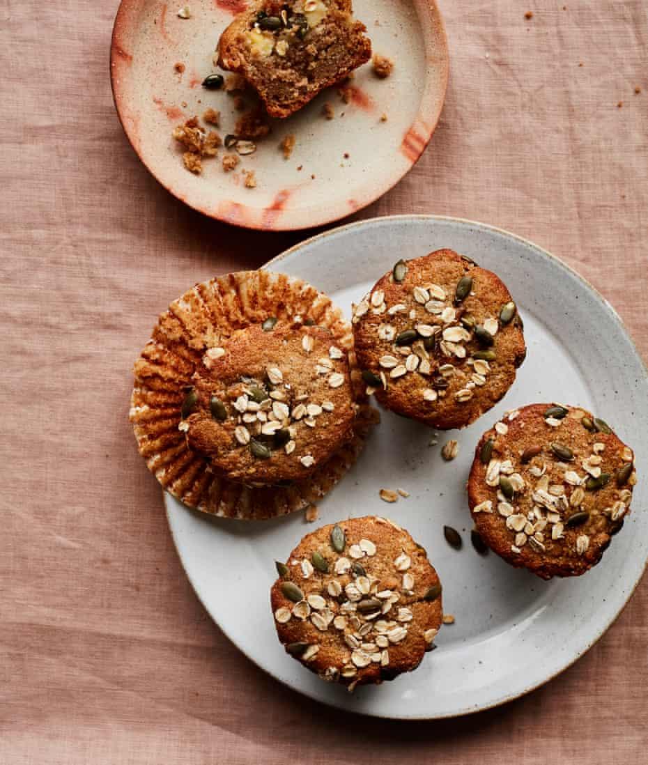 Benjamina Ebuehi's apple and cardamom buckwheat muffins