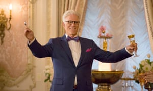 Ted Danson as Michael in the first season of The Good Place.