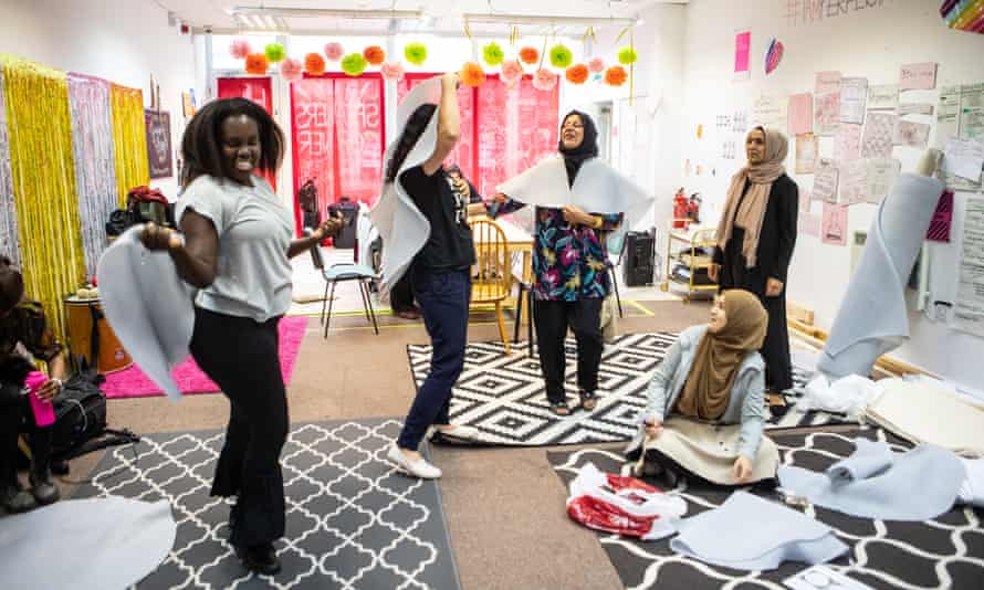 'It feels good to be in the room': rehearsals in Bradford for the new Common Wealth play, Radical Acts.