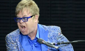 Elton John performs last week at the Outside Lands Music and Arts Festival at Golden Gate Park in San Francisco.