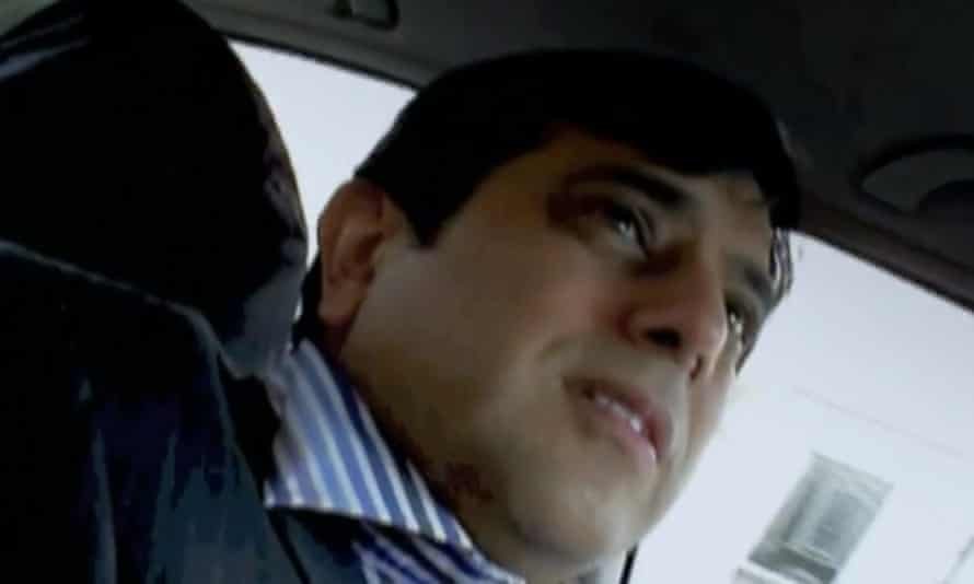 Mazher Mahmood, known as the 'Fake Sheikh'.