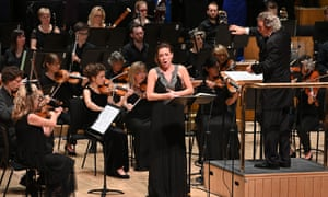 Mary Bevan with the Britten Sinfonia, conducted by Harry Christophers