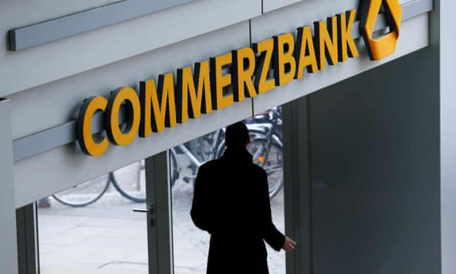 Commerzbank headquarters in Frankfurt, Germany.