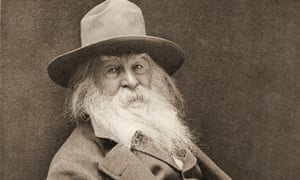 Walt Whitman in the late 19th century.