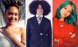 Rising star nominees Joy Crookes, Celeste and Beabadoobee