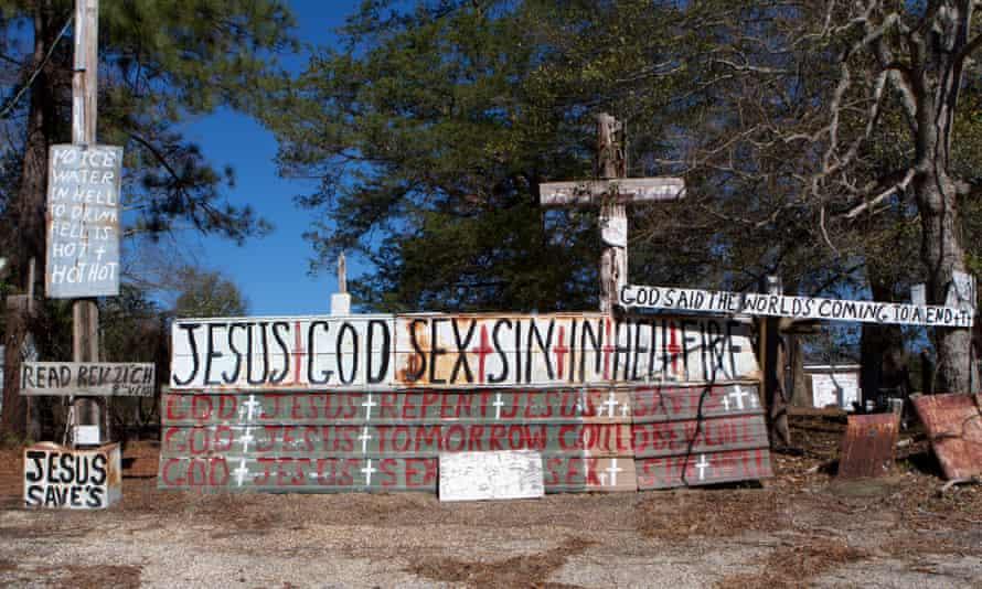 WC Rice's Cross Garden in Prattville, Alabama.