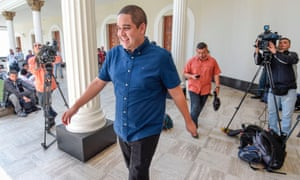 Nicolás Maduro Guerra, son of Venezuela's President Nicolás Maduro, is allegedly a major player in the country's gold trade.