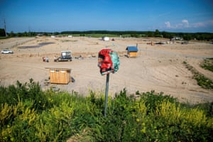 Caledonia, Canada The head from a Ryerson University statue of Egerton Ryerson, considered one of the architects of Canada's residential school system, is seen after its removal, at 1492 Land Back Lane reclamation camp set up by Six Nations of the Grand River in Ontario
