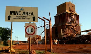 Rio Tinto had one of the biggest credit purchases, at the Alcan Gove bauxite mine.