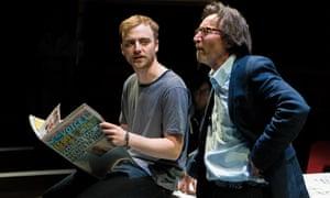 #WeAreArrested Mischief Festival 2018 l-r Jamie Cameron (Ege) and Peter Hamilton Dyer (Can)