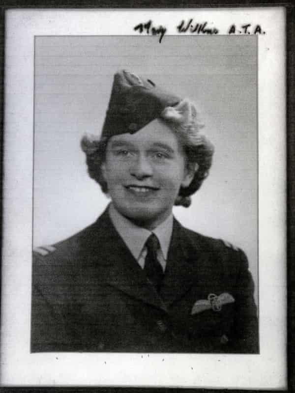 Mary Ellis (then Wilkins) in her ATA uniform.