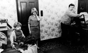 Carol White and Ray Brooks in Cathy Come Home
