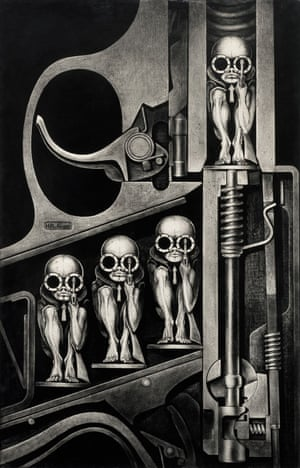 Giger was born in Switzerland in 1940 and died in 2014 after being injured in a fall