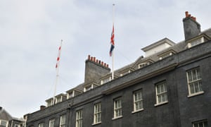 Sri Lanka terrorist attacksFlags are flown at half mast in Downing Street, London to honour the nearly 300 people killed in the series of terror attacks in Sri Lanka.