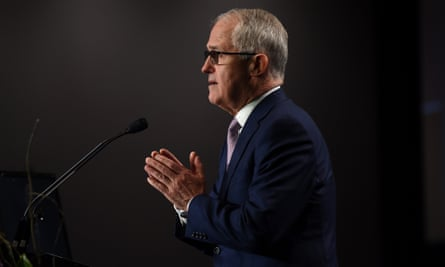 The prime minister, Malcolm Turnbull, at the Coag domestic violence summit in Brisbane on Friday.