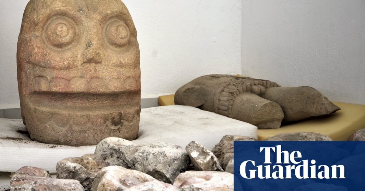 0a79ed1cbb Mexican experts discover first temple of god depicted as skinned human  corpse