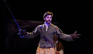 Christian Edwards in Northern Broadsides' Cyrano de Bergerac.