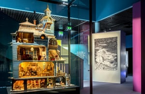One of the museum's prize exhibits is this model of a painstakingly-detailed, five-storey Moomins house, built in the 1970s.