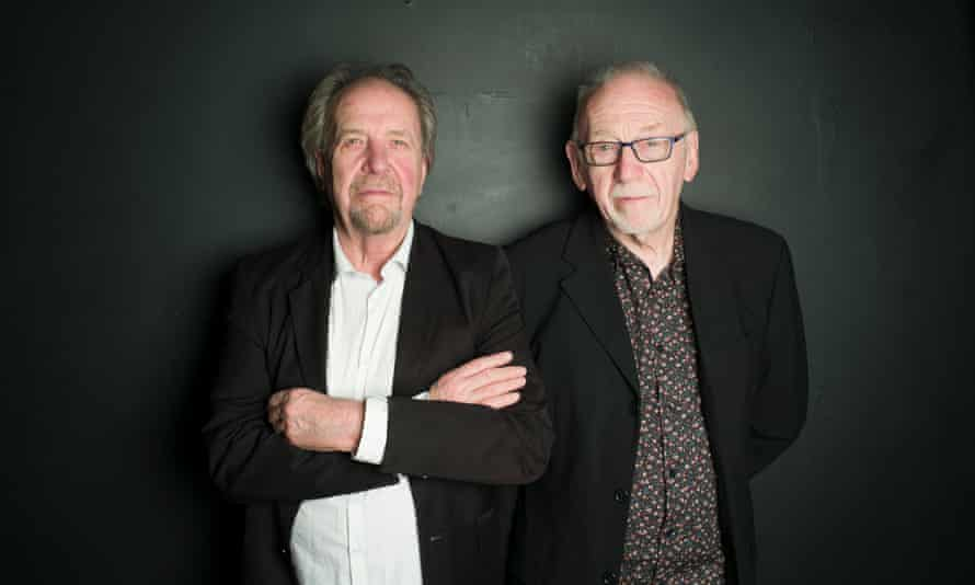 Phil May (left) and Dick Taylor.