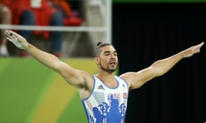 Louis Smith pictured at the Rio Olympics.