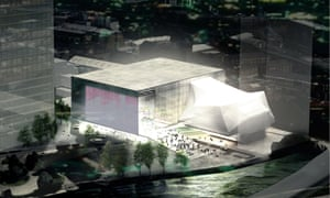 The proposed £110m Factory arts centre in Manchester.