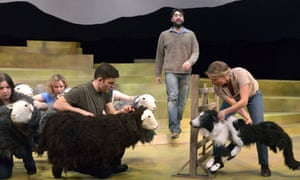 Cannily matched to its location … The Shepherd's Life at Theatre by the Lake, Keswick.