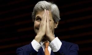 The US secretary of state John Kerry