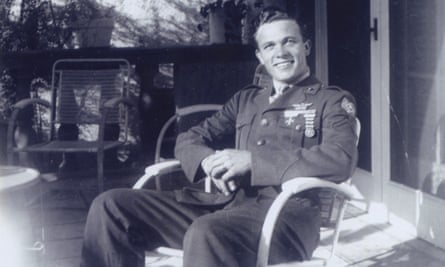 Bowers in uniform in the 1940s