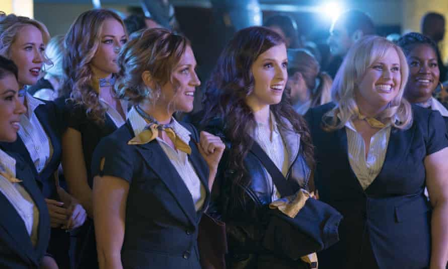 Brittany Snow, Anna Kendrick and Rebel Wilson in Pitch Perfect 3