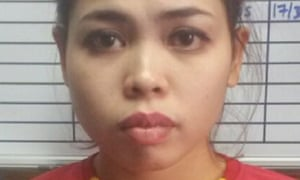 Siti Aisyah of Indonesia, detained in connection with the assassination.