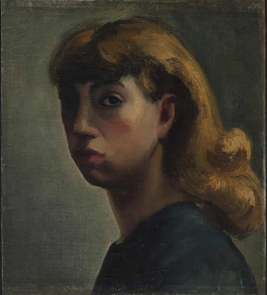 Self-Portrait by Lee Krasner (1931).