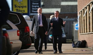 Ukip MP Douglas Carswell and Ukip leader Nigel Farage. Clacton has the country's only Ukip MP, and 16 Ukip councillors.