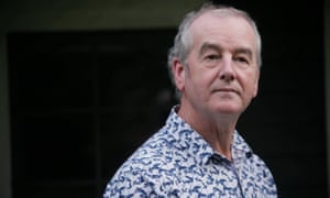 David Almond at his home in Northumberland.