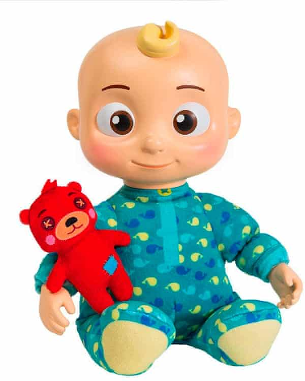 A musical bedtime JJ Doll from the popular Cocomel brand.