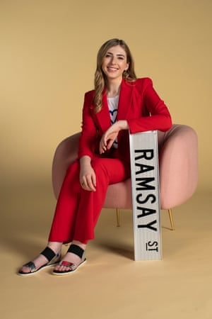 The activist and actor Georgie Stone plays Mackenzie Hargraves on Neighbours, a character she pitched to the show last year.