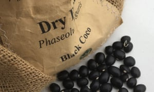 'Black Coco' bean grow up to 45cm high.