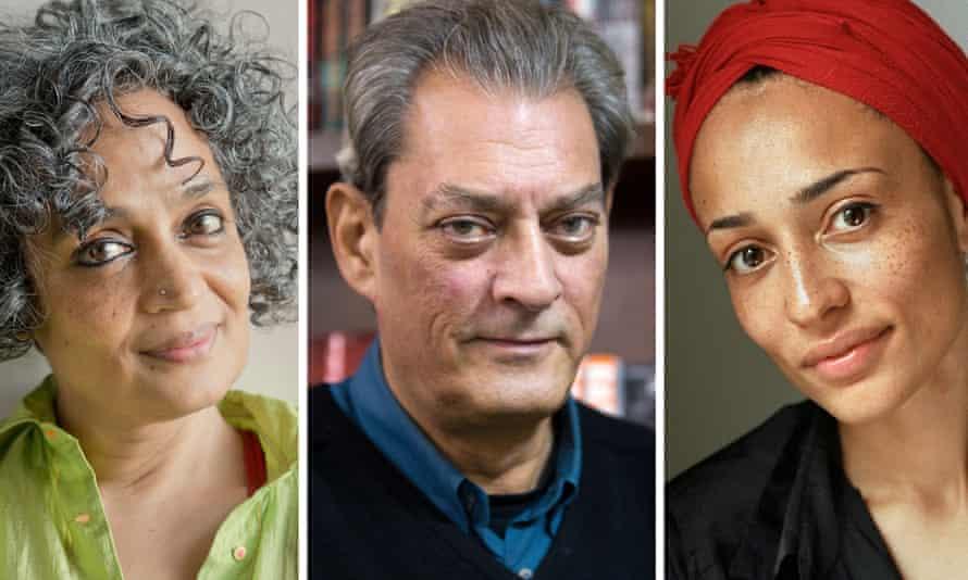 Booker Prize Arundhati Roy, Paul Auster, Zadie Smith