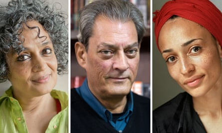 Booker Prize Arundhati Roy, Paul Auster, Zadie Smith