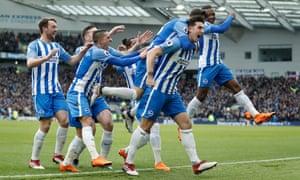 Brighton players