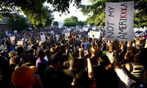 Protest rally in McKinney
