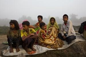 Palong Khali, Bangladesh A Rohingya family