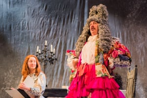 Female point of view … Chisholm as Molière with Sarah Miele as Menou.
